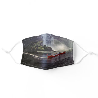 Stirling falls in Milford sound - New Zealand Adult Cloth Face Mask