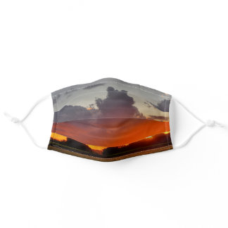 Storm Sunset Face Mask