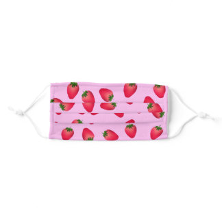 Strawberry Adult Cloth Face Mask