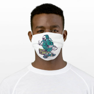 Street style grenade adult cloth face mask