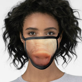 Stunning Cute Pink Piglet's Animal Snout Face Mask