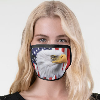 Stunning Eagle, The American Flag Patriotic Face Mask