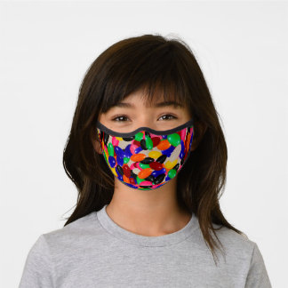 Stylish Kid's or Fun Adult Jelly Bean Candy Look Premium Face Mask