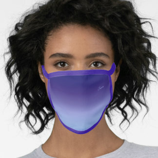 Stylish Personalized Tri Color All Over Print Face Mask