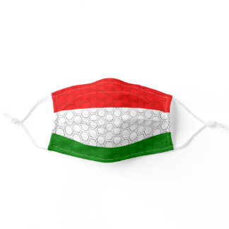 Stylized Flag of Hungary Adult Cloth Face Mask
