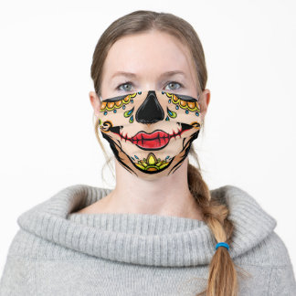 Sugar Skull  Halloween Face Mask Scary