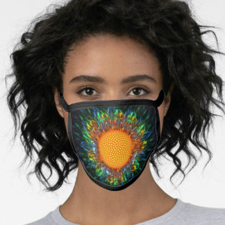 Sunburst Daisy Face Mask