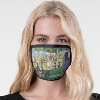 Sunday Afternoon Seurat Neo Impressionist Painting Face Mask