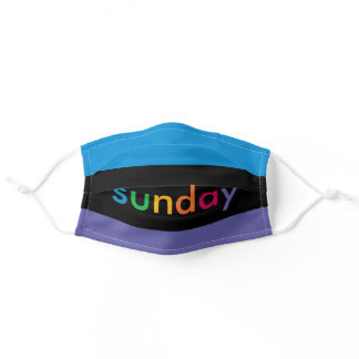 Sunday School Adult Cloth Face Mask