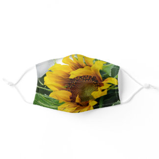 Sunflower Adult Cloth Face Mask