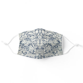 Sunflower Design (by William Morris) Adult Cloth Face Mask
