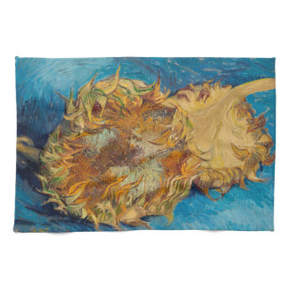 Sunflowers by Van Gogh Painting Art Kitchen Towel