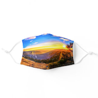 Sunrise in the Rockies Colorado Comfortable Adult Cloth Face Mask