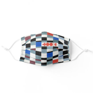 Super Chess, Paul Klee Adult Cloth Face Mask