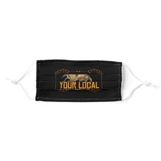 Support Your Local Honey Bee Beekeeper Honey Adult Cloth Face Mask