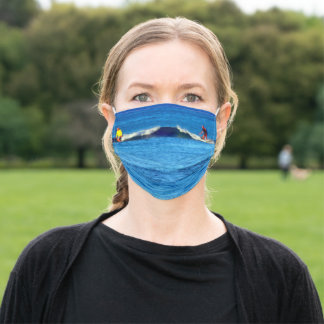 Surf's Up! Adult Cloth Face Mask