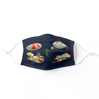 Sushi Japanese food lovers-bestselling Adult Cloth Face Mask