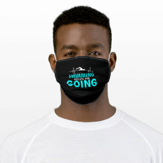Swimming Swimming Club Competition Swimming Adult Cloth Face Mask