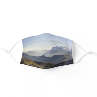 Swiss Alps Face Mask