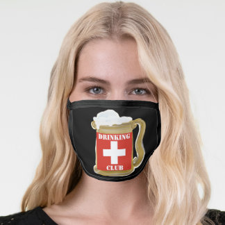SWITZERLAND DRINKING CLUB FACE MASK