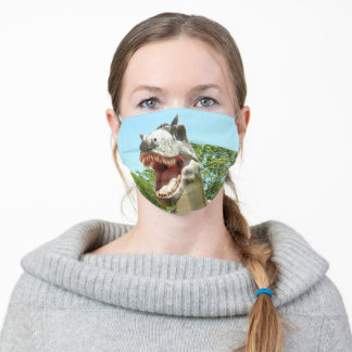 T-Rex Dinosaur Adult Cloth Face Mask
