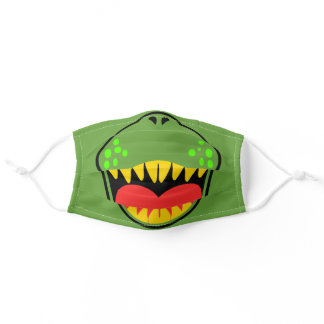 T-REX SMILE ADULT CLOTH FACE MASK