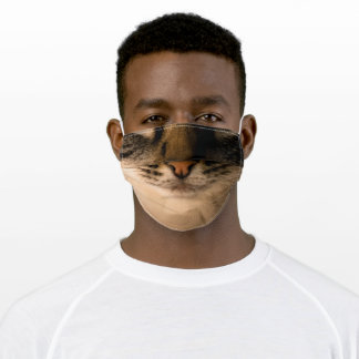 Tabby Cat Adult Cloth Face Mask