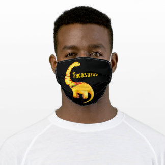 Tacossarus Dinosarus Adult Cloth Face Mask