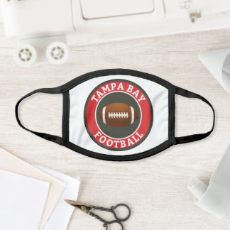 Tampa Bay Football College University Face Mask