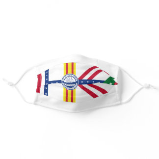 Tampa, Florida City Flag Cloth Face Mask