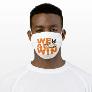 Team Coach Losing funny Adult Cloth Face Mask