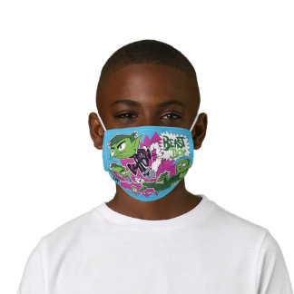 Teen Titans Go! | Beast Boy Shapeshifts Kids' Cloth Face Mask
