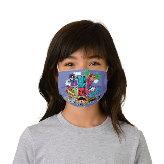 Teen Titans Go! | Team Arrow Graphic Kids' Cloth Face Mask