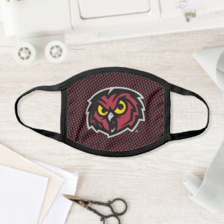 Temple University Polka Dot Pattern Face Mask
