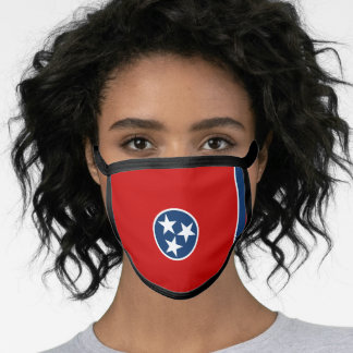 Tennessean the flag, American state flag Face Mask