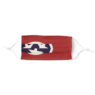TENNESSEE Flag - Adult Cloth Face Mask