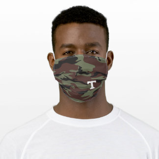 Tennessee Power T - Camo Adult Cloth Face Mask