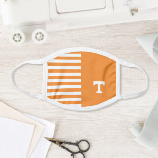 Tennessee Power T | Stripes Face Mask