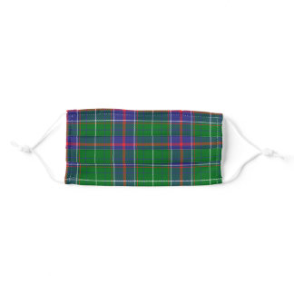 Tennessee State Tartan Adult Cloth Face Mask