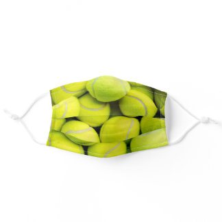 Tennis Ball Fuzz Adult Cloth Face Mask