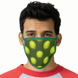 Tennis Balls Sports All-Over Print Face Mask