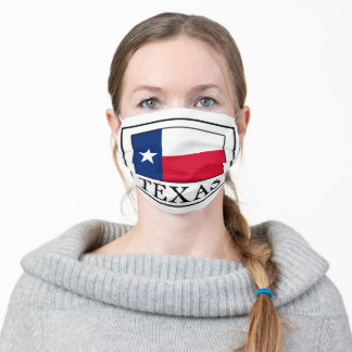Texas Adult Cloth Face Mask