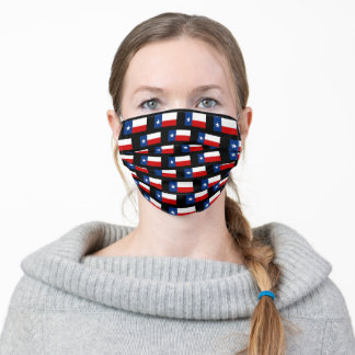 Texas Flag Adult Cloth Face Mask