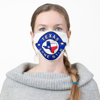 Texas Lone Star Cloth Face Mask
