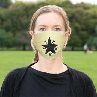 Texas Star Adult Cloth Face Mask