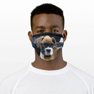 THE AMERICAN BOXER ADULT CLOTH FACE MASK