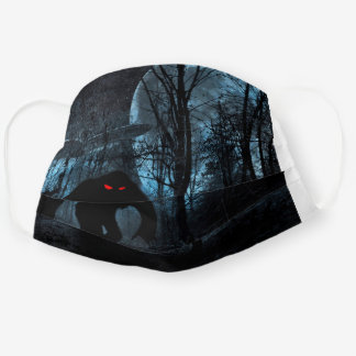 the arrival of the bigfoot cloth face mask