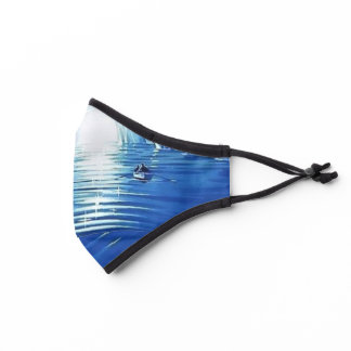 the blue grotto premium face mask