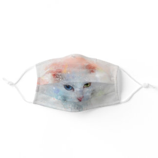 The cat adult cloth face mask