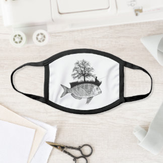 The Fishing Fisherman Graphic Humor Gift Face Mask